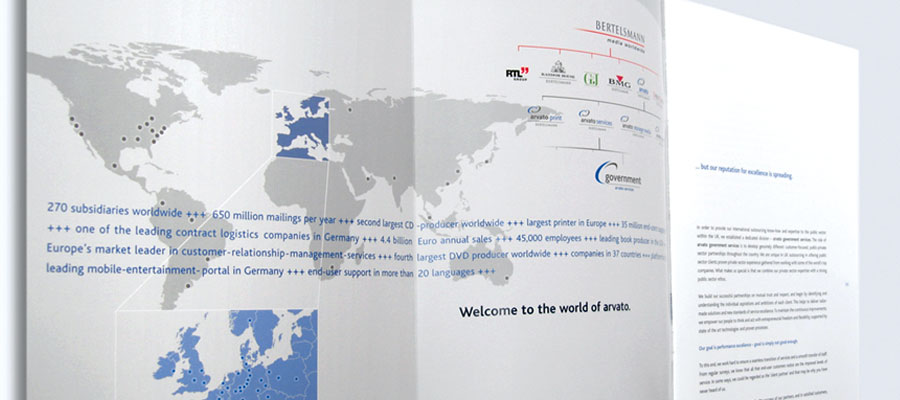 Corporate Brochure - Inside Map