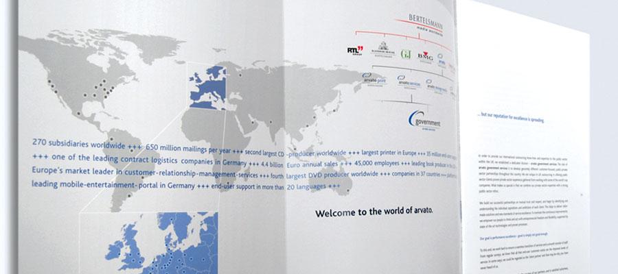 Corporate Brochure - Inside Map